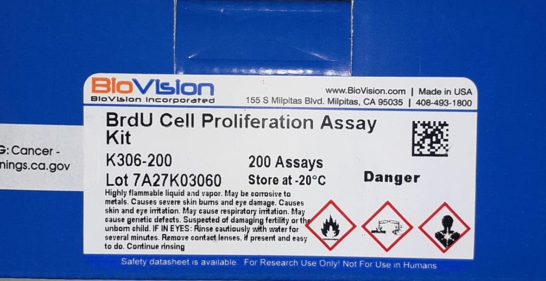 brdu cell proliferation assay kit